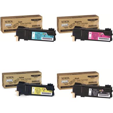 Xerox  Toner Rainbow Pack CMY (1K) + Black (2K)
