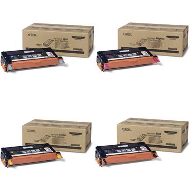 Xerox  Hi-Cap Toner Rainbow Pack CMY (6K) + Black (8K)
