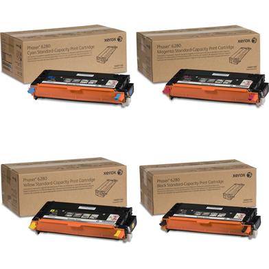 Xerox  Toner Rainbow Pack CMY (2.2K) + Black (3K)