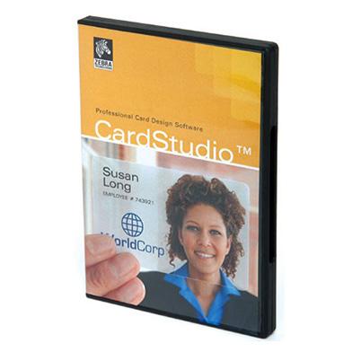 Zebra P1031774-001 ZMotif CardStudio Standard Edition