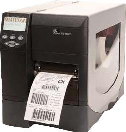 Zebra ZM400 With 10/100 Print Server Direct Thermal