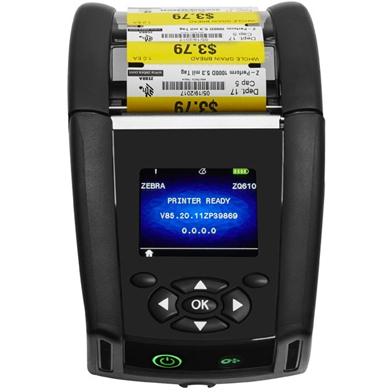 Zebra ZQ610 (Wireless, Bluetooth & Extended Battery)