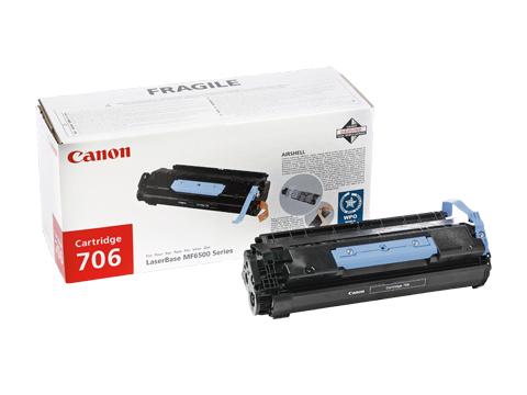 Canon 0264B002AA Black 706 Toner Cartridge