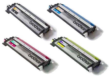 Brother TN-230 Toner Rainbow Pack CMY(1.4k) K(2.2k)