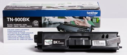 Brother TN900BK Black Toner Cartridge (6,000 Pages)