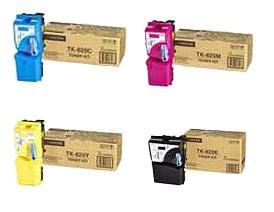 Kyocera  TK-820 Toner Rainbow Pack CMY (7K) + Black (15K)