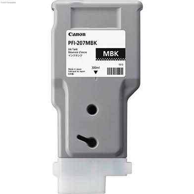 Canon 8788B001AA PFI-207MBK Matte Black Ink Cartridge (300ml)
