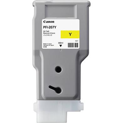 Canon 8792B001AA PFI-207Y Yellow Ink Catridge (300ml)