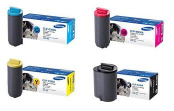 Samsung  CLP-350A Toner Rainbow Pack CMY (2k) + Black (4k)