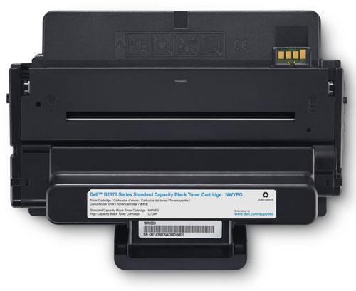 Dell 593-BBBI Black Toner Cartridge (3,000 pages)