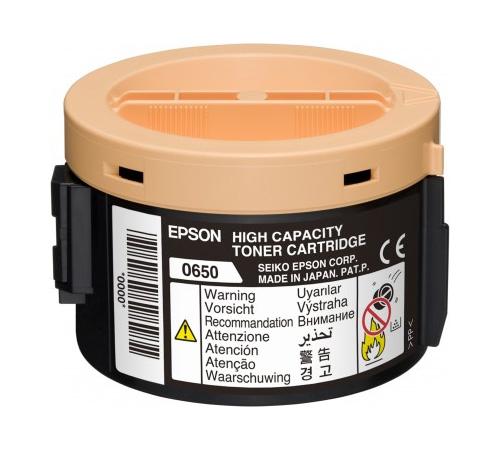 Epson C13S050650 High Capacity Black Toner Cartridge (2,200 pages)