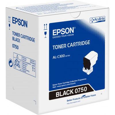 Epson C13S050750 Black Toner Cartridge (7,300 Pages)