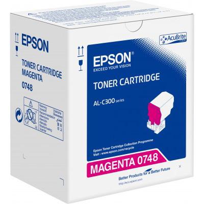 Epson C13S050748 Magenta Toner Cartridge (8,800 Pages)