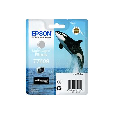 Epson C13T76094010 T7609 Light Light Black Ink Cartridge (25.9ml)