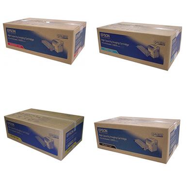 Epson  Toner Rainbow Pack CMY (9k) + Black (9.5K)