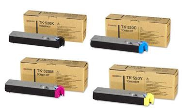 Kyocera  TK-520 Toner Rainbow Pack CMY (4K) + Black (6K)