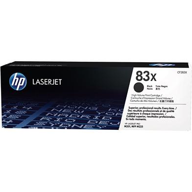 HP CF283X 83X High Capacity Black Toner Cartridge (2,200 pages)