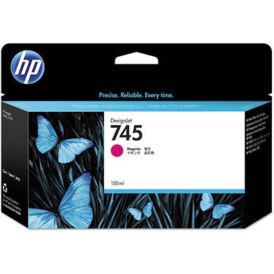HP 745 Magenta DesignJet Ink Cartridge 130ml
