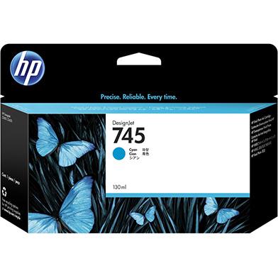HP 745 Cyan DesignJet Ink Cartridge 130ml
