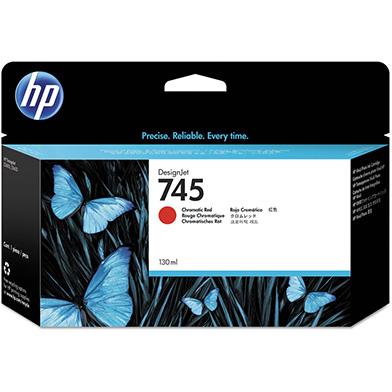 HP F9K00A 745 Chromatic Red DesignJet Ink Cartridge 130ml