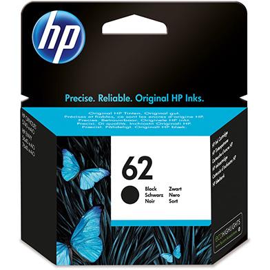 HP C2P04AE 62 Black Ink Cartridge (200 Pages)