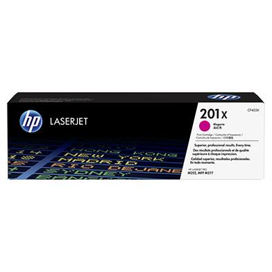 HP CF403X 201X High Cap Magenta Toner Cartridge (2,300 pages)