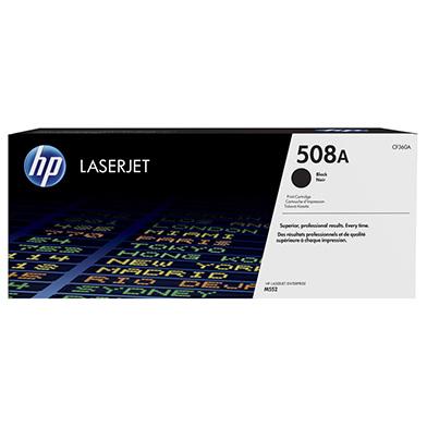 HP CF360A 508A Black Toner Cartridge (6,000 pages)
