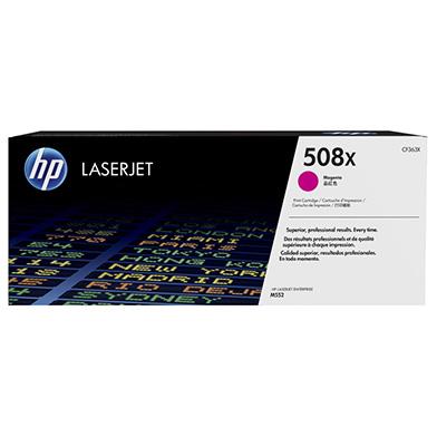 HP CF363X 508X High Cap Magenta Toner Cartridge (9,500 pages)