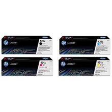 HP  131X/131A Toner Value Kit (2.4k K + 1.8k CMY)
