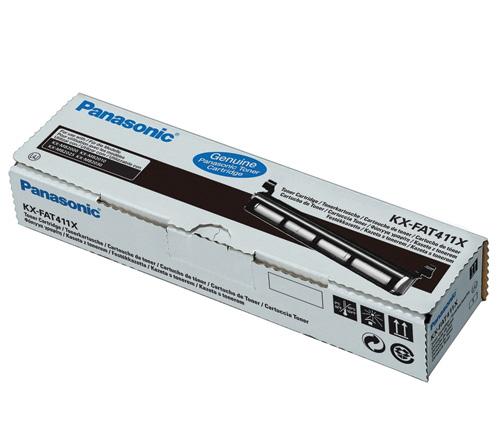 Panasonic KX-FAT411X Black Toner Cartridge (2,000 pages)