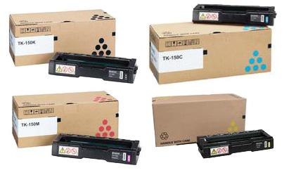 Kyocera TK-150 Toner Rainbow Pack CMY(6k) K(6.5k)