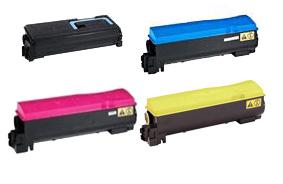 Kyocera  TK-570 Toner Rainbow Pack CMY(12k) K(16k)