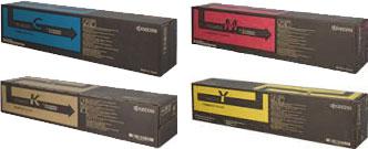 Kyocera  TK-8600 Toner Rainbow Pack CMY(20k) K(30k)