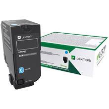 Lexmark 74C2HC0 High Capacity Cyan Toner Cartridge (12,000 Pages)