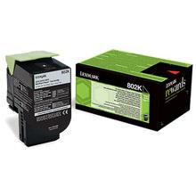 Lexmark 80C20K0 802K Black RP Toner Cartridge (1,000 Pages)