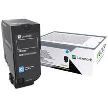 Lexmark 75B0020 Cyan Toner Cartridge (10,000 pages)