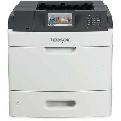 Lexmark MS810de + High Capacity Black Toner (25,000 Pages)