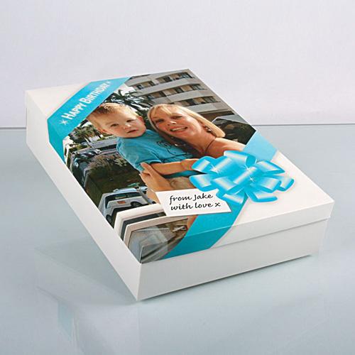 OKI 09450827 Gift Boxes & Printable Lids (210gsm, SRA3, 50 Sheets, 1 per Sheet)