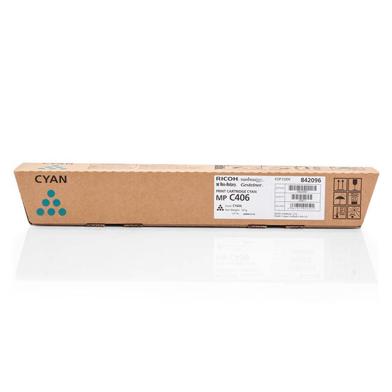 Ricoh 842096 Cyan Toner Cartridge (6,000 Pages)