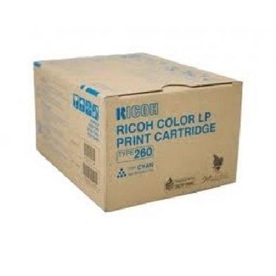 Ricoh 888449 Type 260 Cyan Toner Cartridge (10,000 Pages)