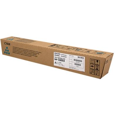 Ricoh 841856 Cyan Toner Cartridge (22,500 Pages)