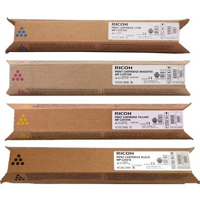 Ricoh  8415 Toner Value Pack (10k Black, 9.5k CMY)