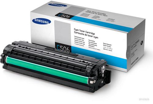 Samsung SU047A CLT-C506S Cyan Toner Cartridge (1,500 Pages)