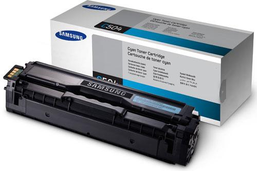 Samsung SU025A CLT-C504S Cyan Toner Cartridge (1,800 Pages)