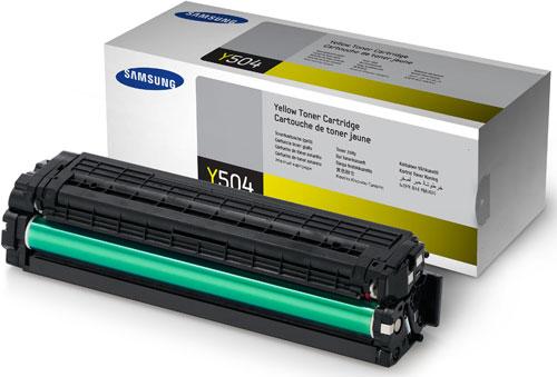 Samsung SU502A CLT-Y504S Yellow Toner Cartridge (1,800 Pages)