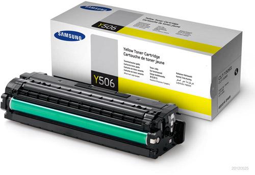 Samsung SU524A CLT-Y506S Yellow Toner Cartridge (1,500 Pages)