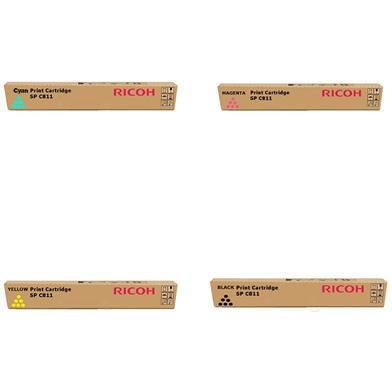Ricoh  Gel Rainbow Pack CMY (15k) + Black (20k)