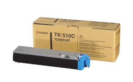 Kyocera TK-510C TK-510C Cyan Toner Kit (8,000 pages)