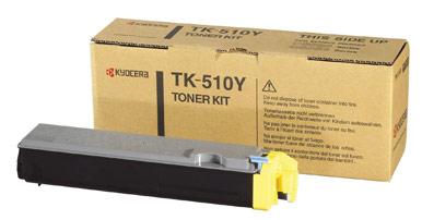 Kyocera TK-510Y TK-510Y Yellow Toner Kit (8,000 pages)