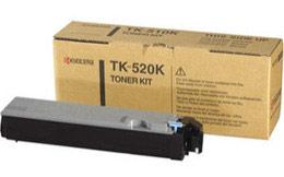 Kyocera 1T02HJ0EU0 TK-520K Black Toner Cartridge (6000 Pages)